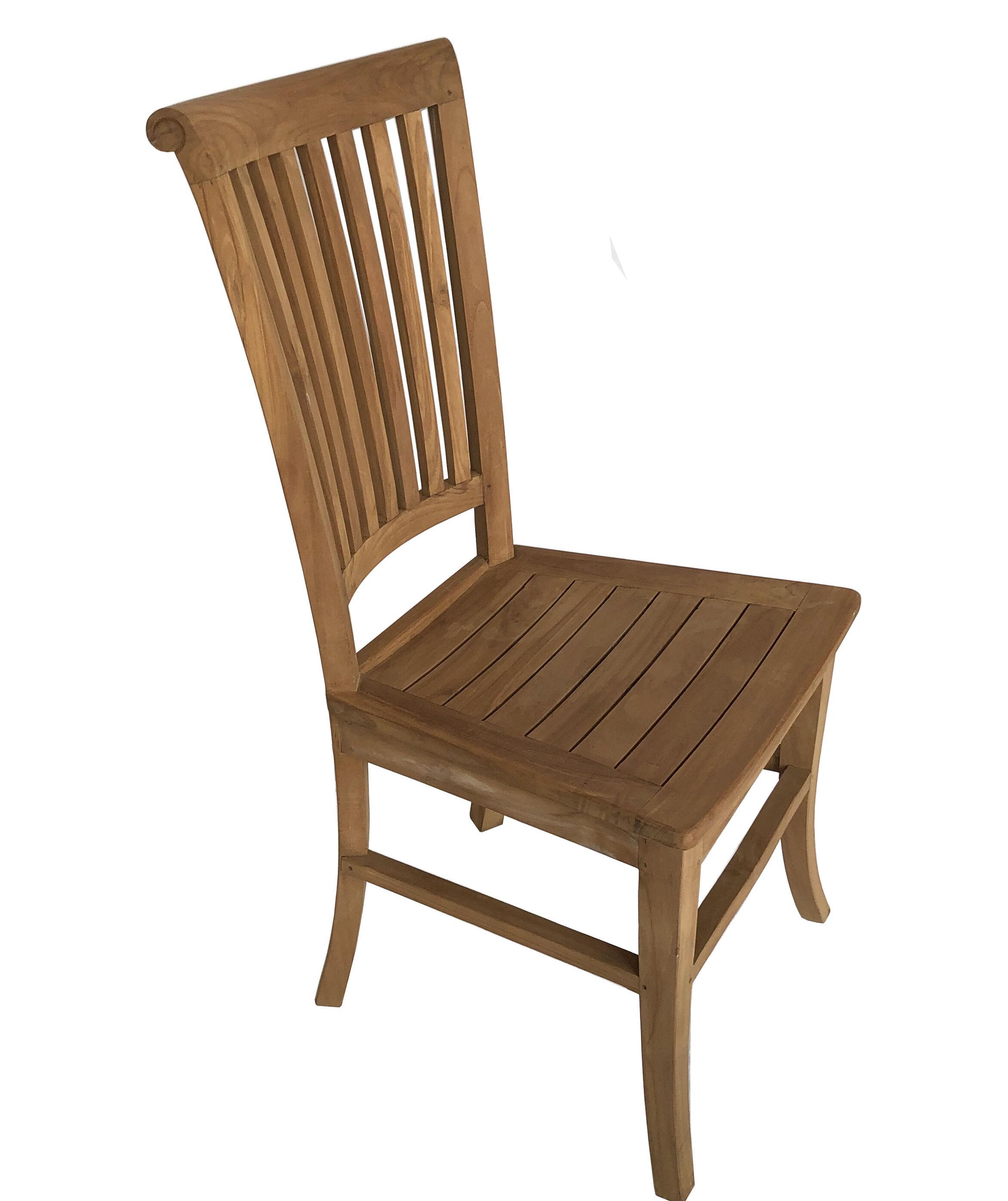Highland Dunes Hendrum Solid Wood Dining Chair Wayfair
