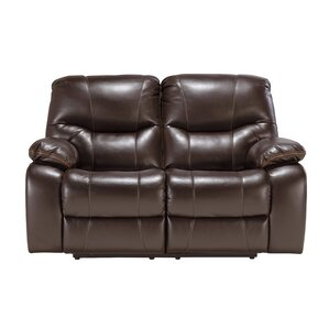 Pranas Reclining Loveseat by Signature Desig..