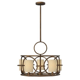 Fredrick Ramond Pandora 5-Light Shaded Chandelier