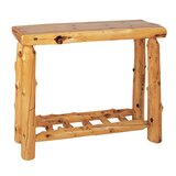 Lytle 42 Solid Wood Console Table by Loon Peak®