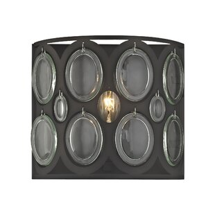 Amara 1-Light Bath Sconce by House of Hampton