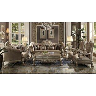 Astoria Grand Forde 3 Piece Living Room Set