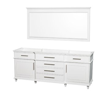 Comparison Berkeley 79 Double Bathroom Vanity Base Only By Wyndham Collection