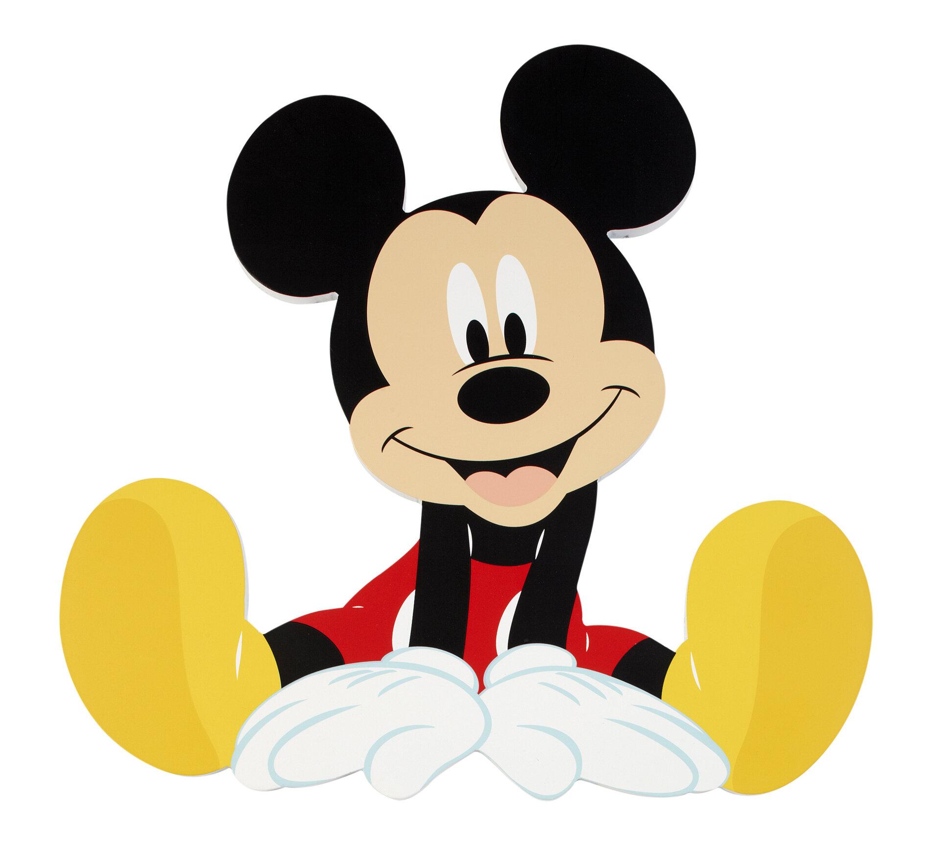 Disney Mickey Mouse Wall Decor & Reviews | Wayfair