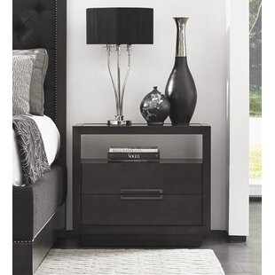 Carrera 2 Drawer Nightstand By Lexington