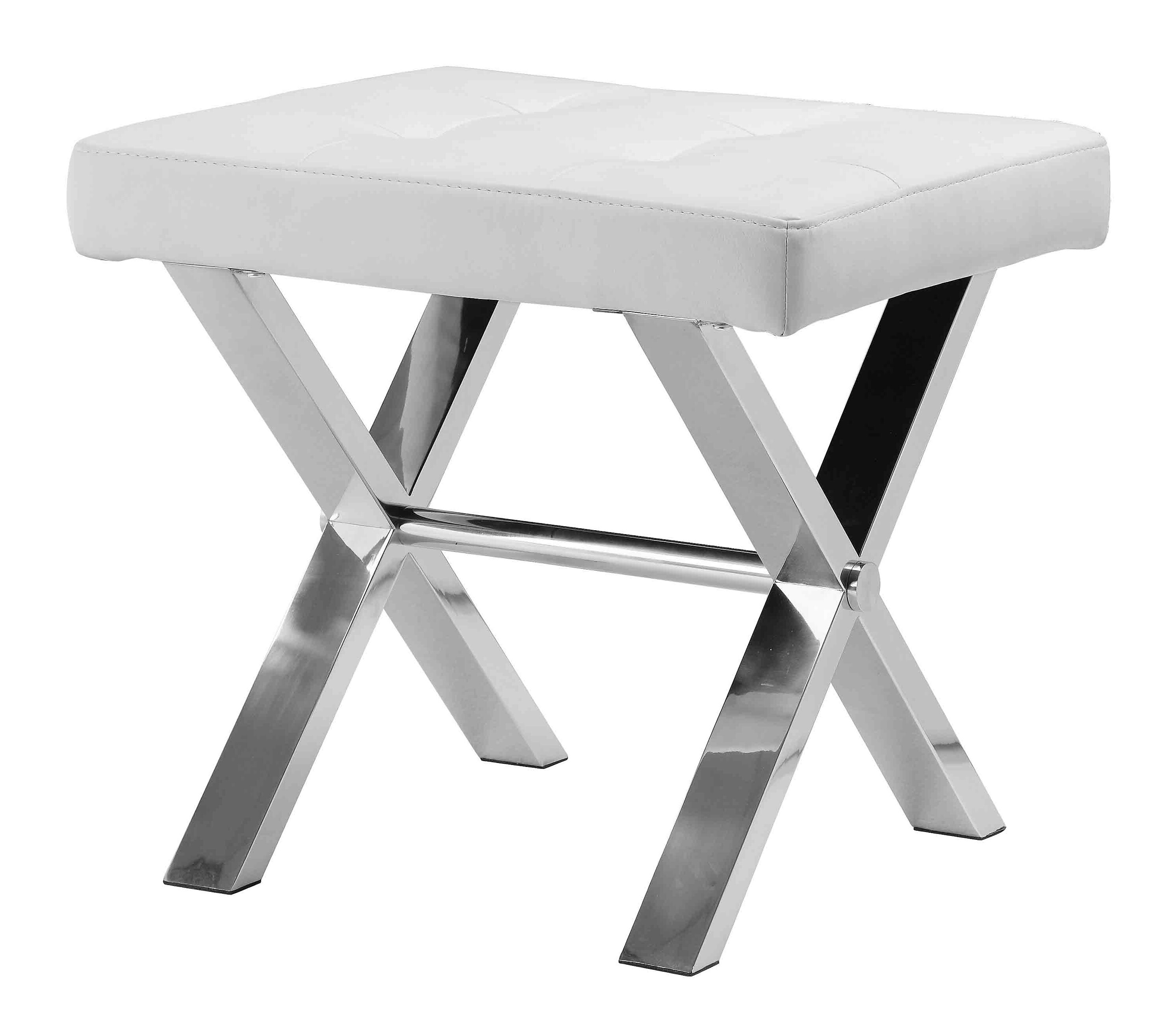 Modern Contemporary Vanity Accent Stools You Ll Love In 2020 Wayfair