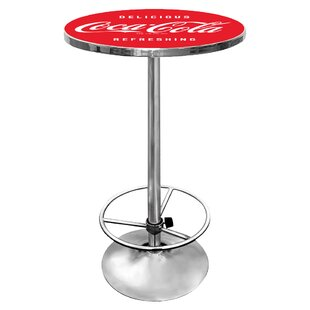 Coca-Cola Pub Table by Trademark Global