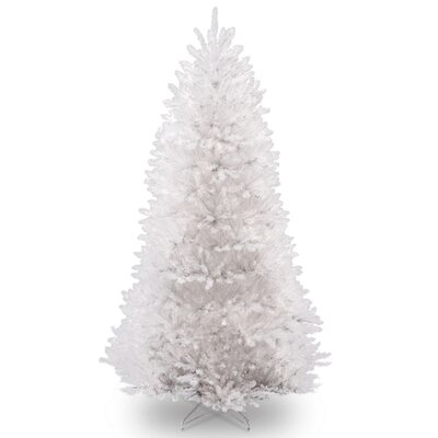 dunhill 75 white fir artificial christmas tree with stand - 75 White Christmas Tree
