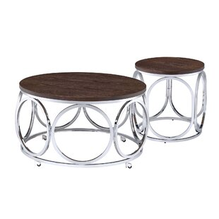 Gahanna 2 Piece Coffee Table Set