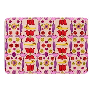 Indian Jewelry Repeat by Jane Smith Bath Mat