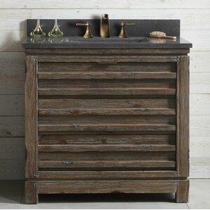 Dorida Wood 36u0027u0027 Single Bathroom Vanity Set