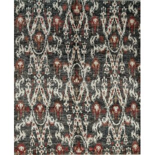 Reviews One-of-a-Kind Hand-Knotted Gray/White Indoor Area Rug ByBokara Rug Co., Inc.