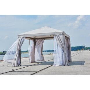 Coldiron 3m X 3m Metal Patio Gazebo By Beachcrest Home