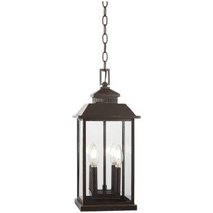 Alcott Hill Helms 4-Light Outdoor Hanging Lantern