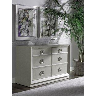 Zeitgeist 6 Drawer Double Dresser By Artistica Home