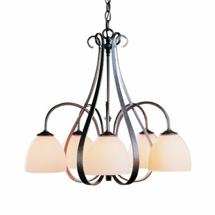 Hubbardton Forge 5-Light Shaded Chandelier