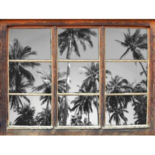 Tropical Palms Wall Sticker By East Urban Home