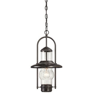 Price comparison Settlers Way 1-Light Outdoor Hanging Lantern By Minka Lavery