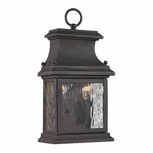 Alcott Hill Maxen 2-Light Outdoor Wall Lantern