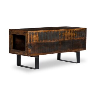 Alexandra Wood Storage Bench By Williston Forge