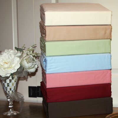 Solid 300 Thread Count Deep-Pocket 100% Cotton Sateen Sheet Set Bed Tite