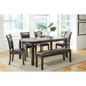 Hampshire 6 Piece Dining Set by Red Barrel Studio