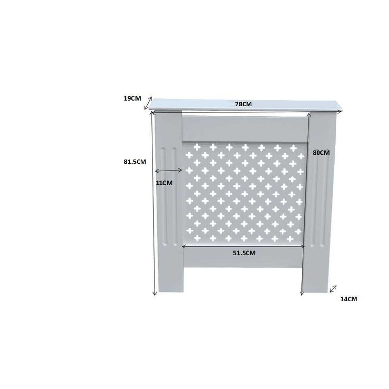 Troutdale Small Radiator Cover