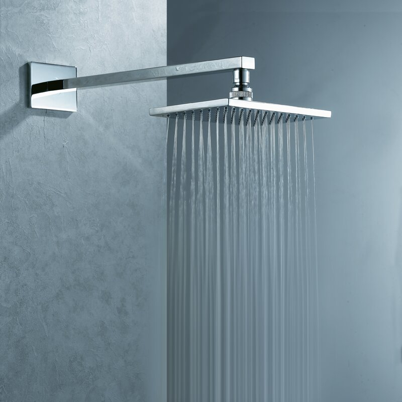 Artos Safire Wall Mount Rain Shower Head & Reviews | Wayfair