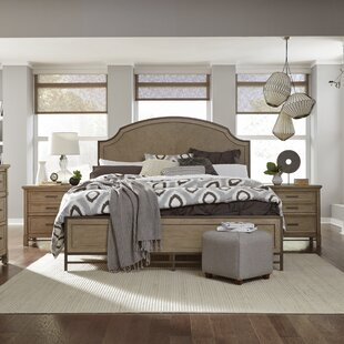Gracie Oaks Westerman Panel Bed