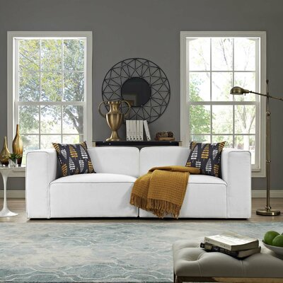 Modern White Sofas Couches Allmodern