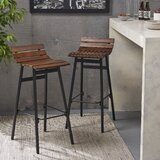 Algoma Wooden 30 Bar Stool (Set of 2) by Brayden Studio®