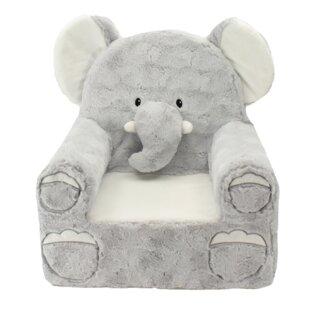Sena Sweat Seat Elephant Chair by Zoomie Kids