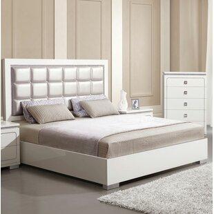 Orren Ellis Kruse Upholstered Panel Bed