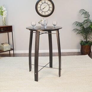 Mountainside 26 Round Pub Table by Gracie Oaks Herry Up