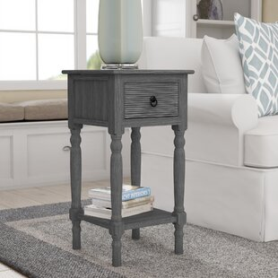 Isabella Side End Table by Bay Isle Home