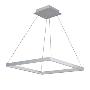 Wade Logan Armaz Square 2-Light LED Pendant
