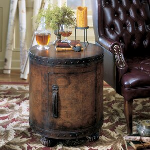 Heritage End Table With Storage by Butler
