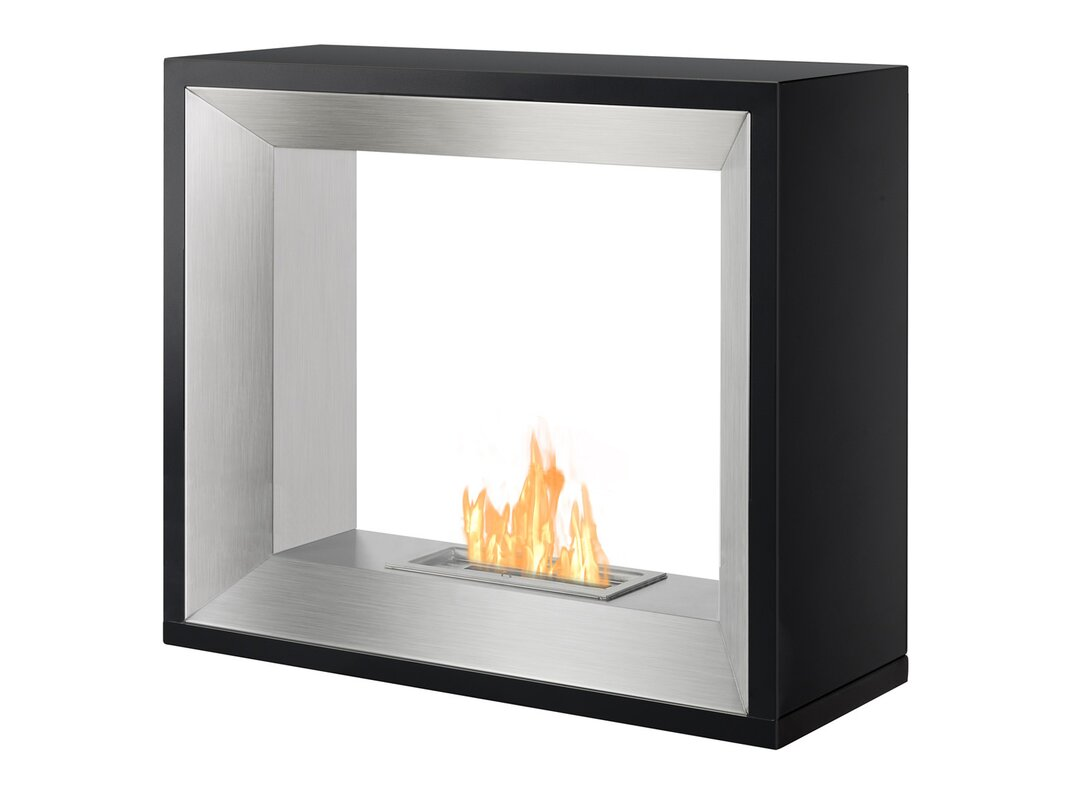 gas ignis reviews ventless fireplace recessed lata ethanol with glass