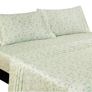 Murdock Floral 400 Thread Count Sheet Set