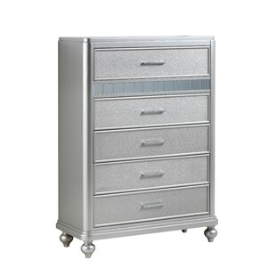 Adhafera 5 Drawer Chest by Rosdorf Park