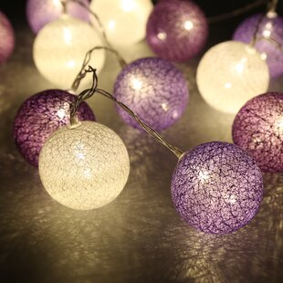 Plastic Ball String Light Led Lamp Christmas Ornament Party Decoration Christmas Tree Hanging Decor Ture 100% Guarantee Ball Ornaments