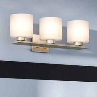 Budget Carswell 3-Light Vanity Light ByLatitude Run