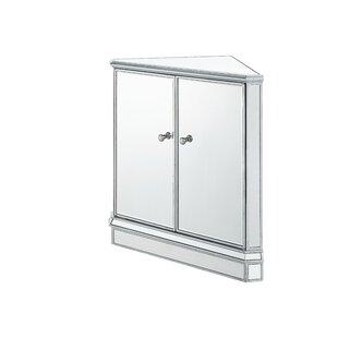 Mariaella Mirrored 2 Doors Accent Chest