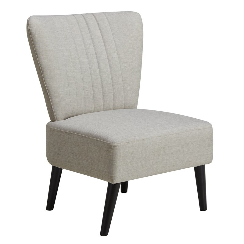 Thayer Channeled Back Slipper Chair