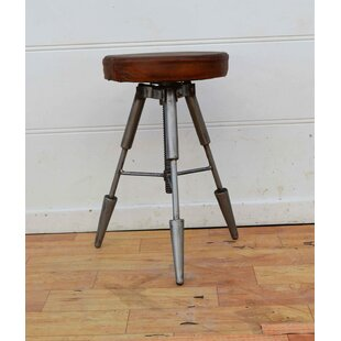 Dinah Height Adjustable Shop Stool by 17 Stories Best Choices