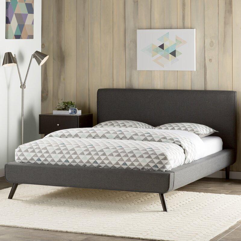 default_name - Upholstered Platform Bed Frame