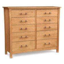Monterey 10 Drawer Dresser by Copeland Furniture