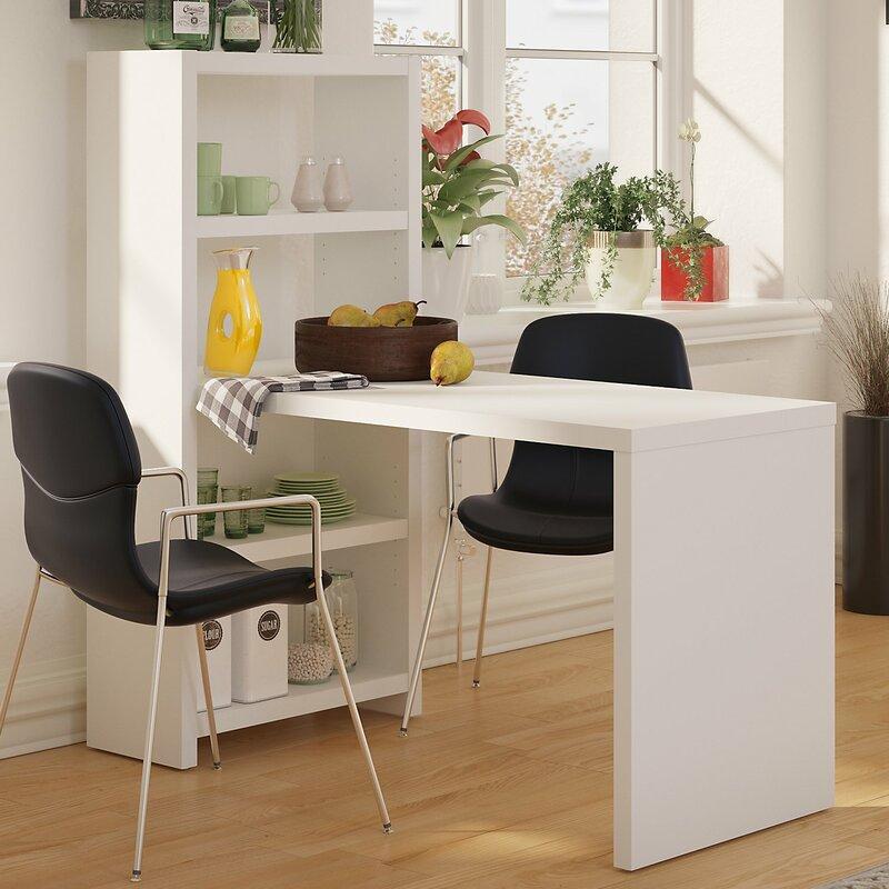 kathy ireland officebush echo dining table | wayfair