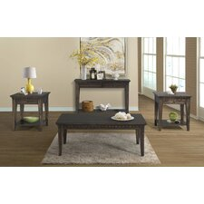 Suzann Tapered 4 Piece Smoke Gray Coffee Table Set by Laurel Foundry Modern Farmhouse