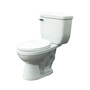 Transolid Madison 1.28 GPF Round Two-Piece Toilet